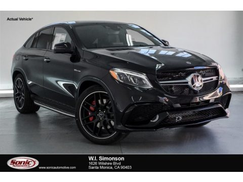 Obsidian Black Metallic 2019 Mercedes-Benz GLE 63 S AMG 4Matic