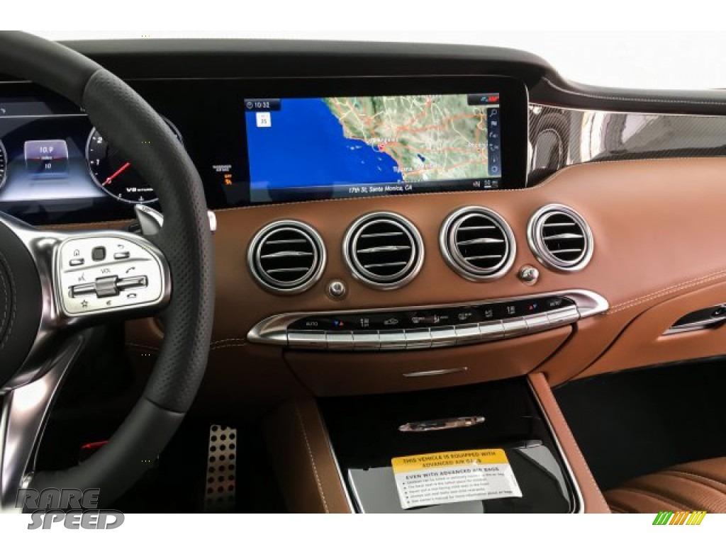 2019 S AMG 63 4Matic Cabriolet - designo Cashmere White (Matte) / designo Saddle Brown/Black photo #5