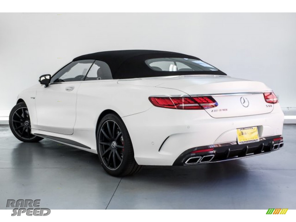 2019 S AMG 63 4Matic Cabriolet - designo Cashmere White (Matte) / designo Saddle Brown/Black photo #10