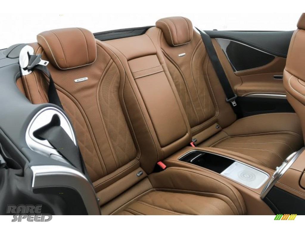 2019 S AMG 63 4Matic Cabriolet - designo Cashmere White (Matte) / designo Saddle Brown/Black photo #13