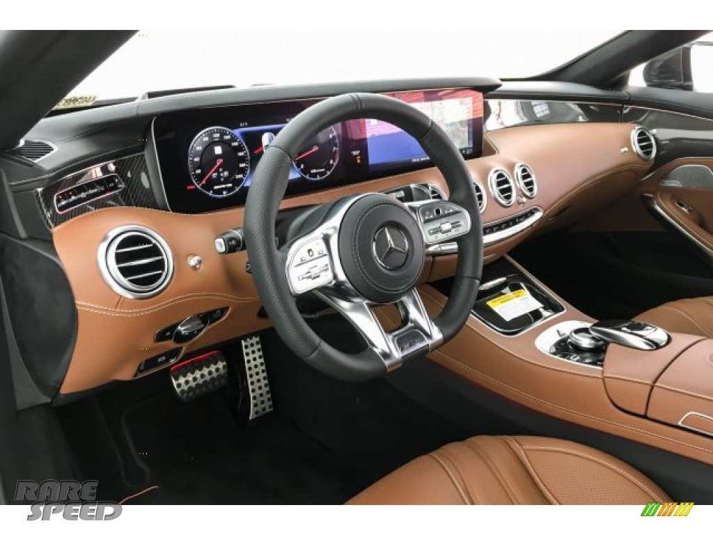 2019 S AMG 63 4Matic Cabriolet - designo Cashmere White (Matte) / designo Saddle Brown/Black photo #23