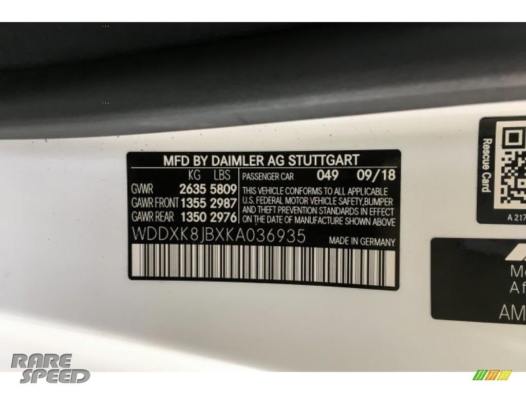 2019 S AMG 63 4Matic Cabriolet - designo Cashmere White (Matte) / designo Saddle Brown/Black photo #25