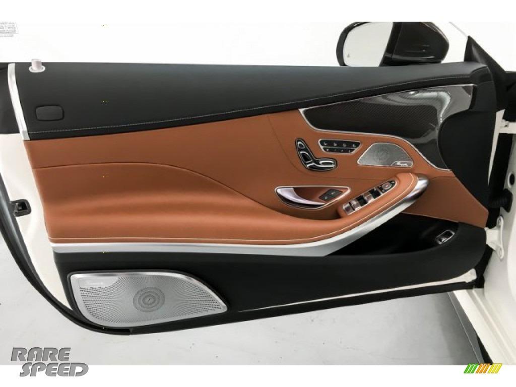 2019 S AMG 63 4Matic Cabriolet - designo Cashmere White (Matte) / designo Saddle Brown/Black photo #26
