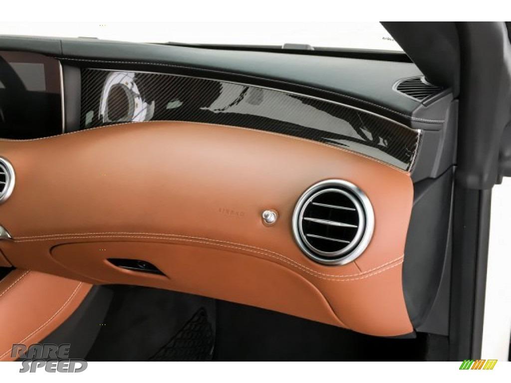 2019 S AMG 63 4Matic Cabriolet - designo Cashmere White (Matte) / designo Saddle Brown/Black photo #28