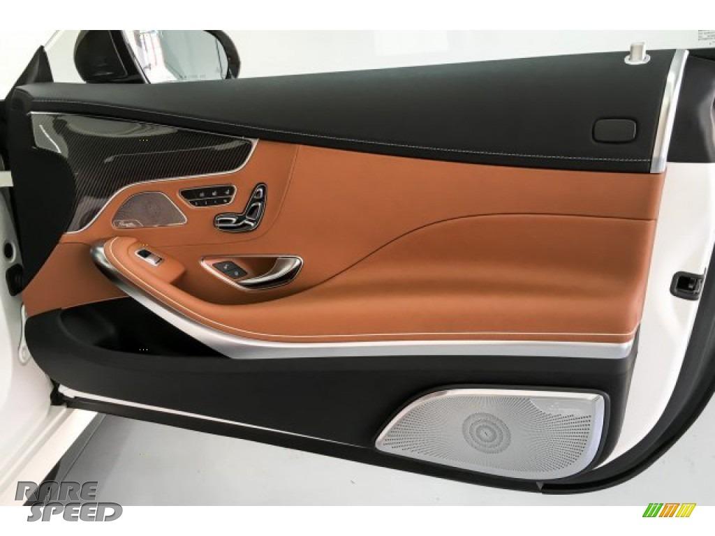2019 S AMG 63 4Matic Cabriolet - designo Cashmere White (Matte) / designo Saddle Brown/Black photo #29