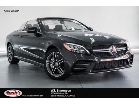 Graphite Grey Metallic 2019 Mercedes-Benz C 43 AMG 4Matic Cabriolet