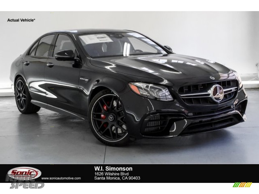 Obsidian Black Metallic / Black Mercedes-Benz E AMG 63 S 4Matic Sedan