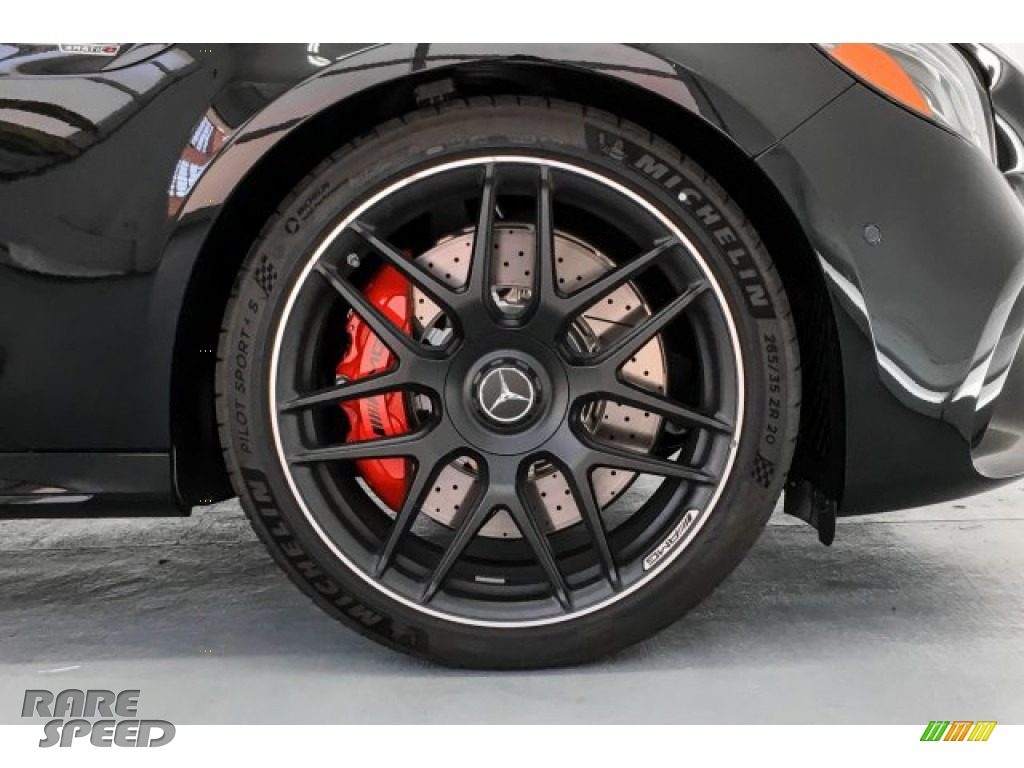 2019 E AMG 63 S 4Matic Sedan - Obsidian Black Metallic / Black photo #9
