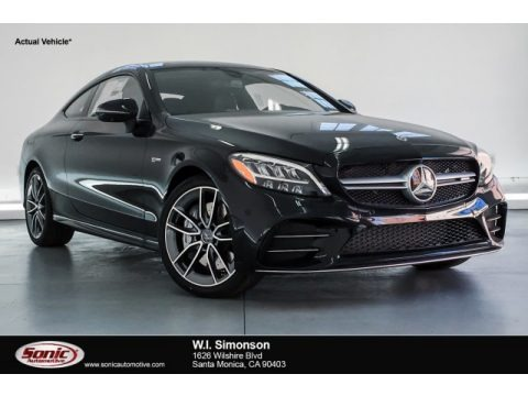 Black 2019 Mercedes-Benz C 43 AMG 4Matic Coupe