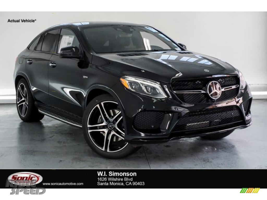 2019 GLE 43 AMG 4Matic Coupe - Black / Black photo #1