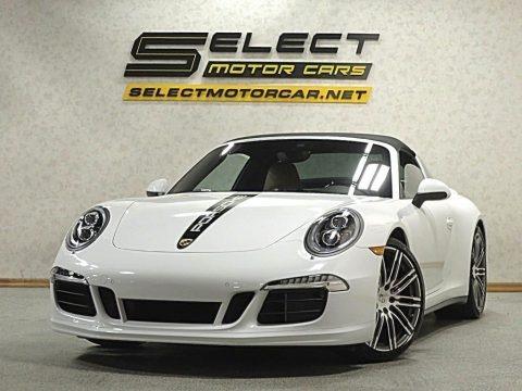 White 2015 Porsche 911 Targa 4S