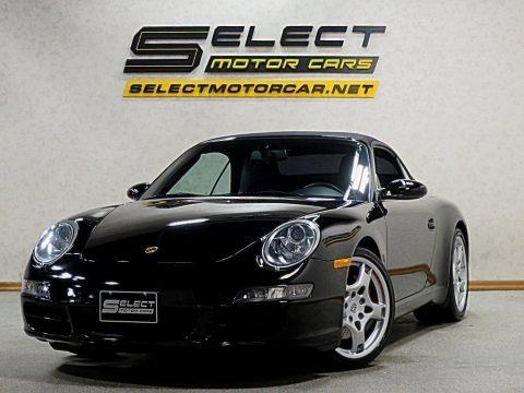 Black 2007 Porsche 911 Carrera S Cabriolet