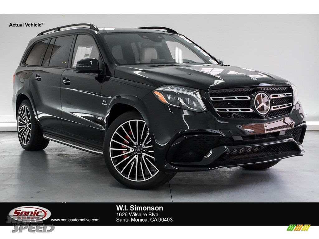 2019 GLS 63 AMG 4Matic - Black / designo Porcelain/Black photo #1