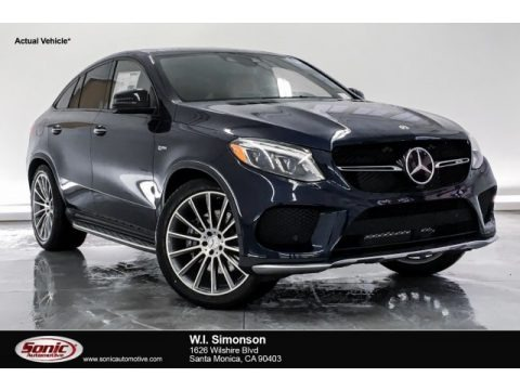 Lunar Blue Metallic 2019 Mercedes-Benz GLE 43 AMG 4Matic Coupe