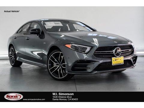 Selenite Grey Metallic 2019 Mercedes-Benz CLS AMG 53 4Matic Coupe
