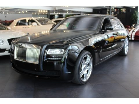 Diamond Black 2011 Rolls-Royce Ghost