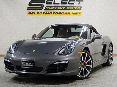 Agate Grey Metallic 2015 Porsche Boxster S