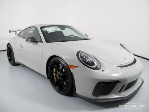 White 2019 Porsche 911 GT3