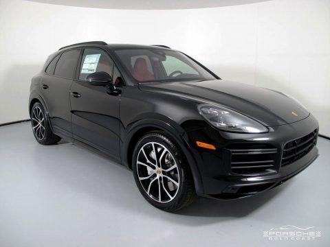 Black 2019 Porsche Cayenne Turbo