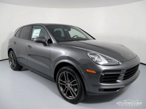 Quartzite Grey Metallic 2019 Porsche Cayenne
