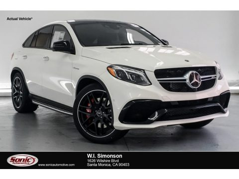 designo Diamond White Metallic 2019 Mercedes-Benz GLE 63 AMG 4Matic Coupe