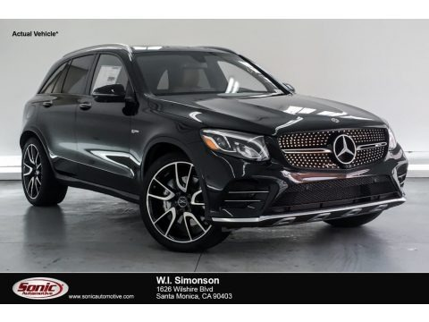 Obsidian Black Metallic 2019 Mercedes-Benz GLC AMG 43 4Matic