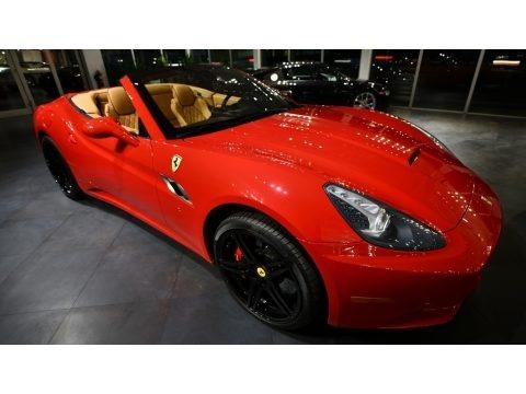 Rosso Corsa (Red) 2010 Ferrari California