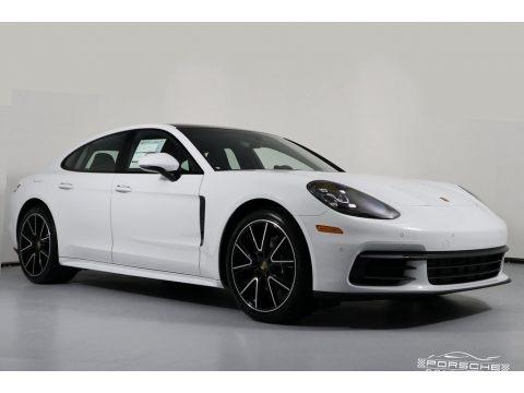 White 2019 Porsche Panamera 4