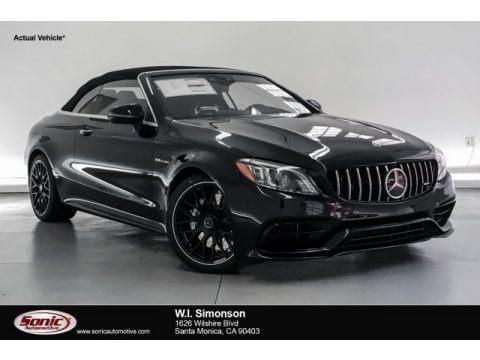 Obsidian Black Metallic 2019 Mercedes-Benz C AMG 63 Cabriolet