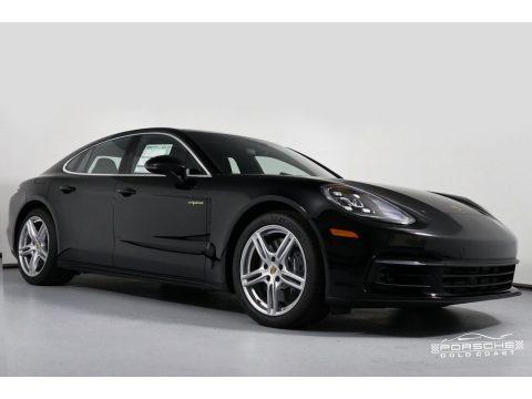 Black 2018 Porsche Panamera 4 E-Hybrid