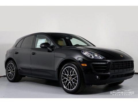 Black 2018 Porsche Macan Sport Edition