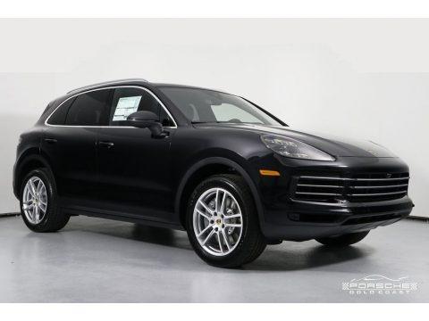 Black 2019 Porsche Cayenne S