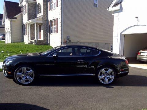 Midnight Emerald Metallic 2012 Bentley Continental GT