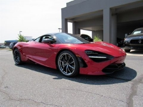 Memphis Red 2018 McLaren 720S Performance