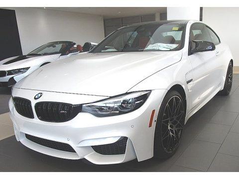 Mineral White Metallic 2019 BMW M4 Coupe