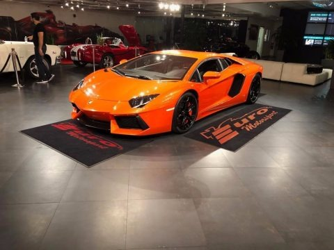 Arancio Atlas (Orange) 2012 Lamborghini Aventador LP 700-4