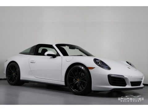White 2019 Porsche 911 Targa 4