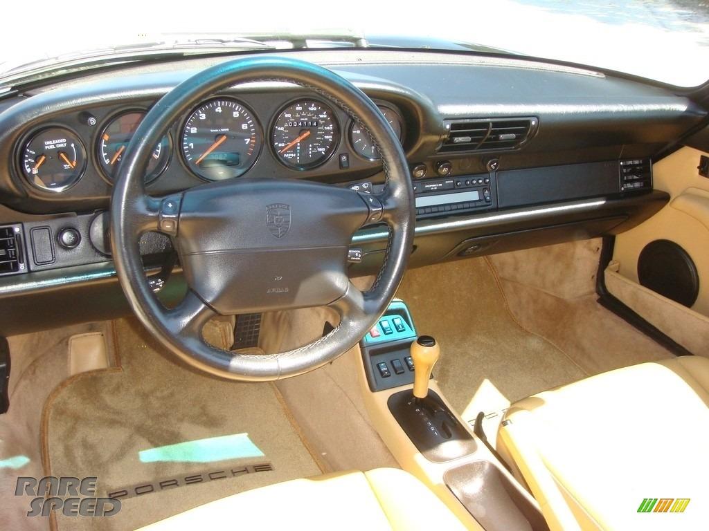 1996 911 Carrera Cabriolet - Black / Cashmere Beige photo #12