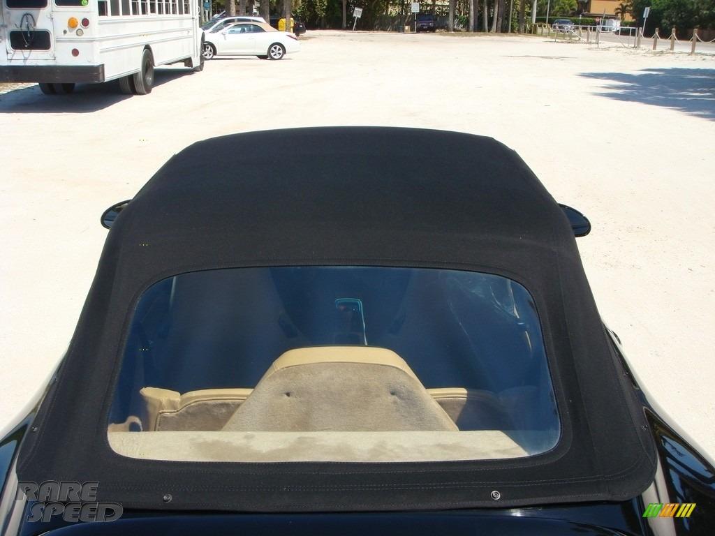 1996 911 Carrera Cabriolet - Black / Cashmere Beige photo #31