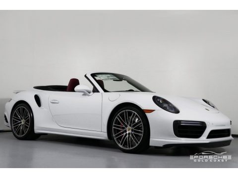 White 2019 Porsche 911 Turbo Coupe