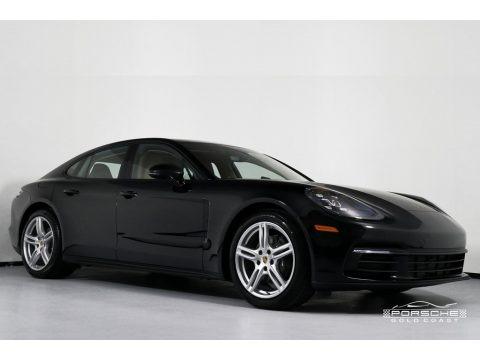 Black 2019 Porsche Panamera 4