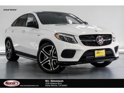 Polar White 2019 Mercedes-Benz GLE 43 AMG 4Matic Coupe