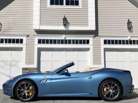 Azzurro California (Light Blue) 2013 Ferrari California 30