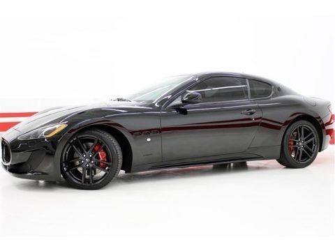 Nero (Black) 2015 Maserati GranTurismo Sport Coupe