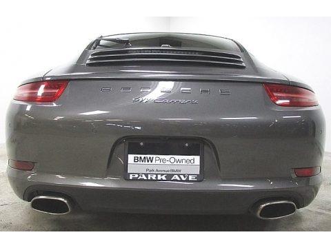 Agate Grey Metallic 2015 Porsche 911 Carrera Coupe