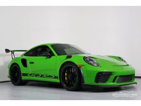 Lizard Green 2019 Porsche 911 GT3 RS