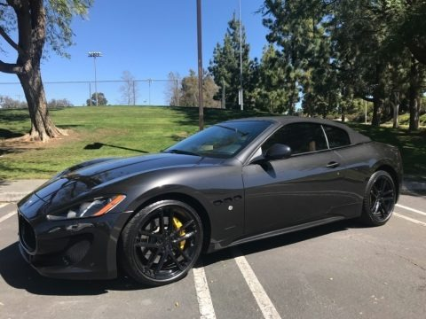 Grigio Granito (Dark Grey) 2015 Maserati GranTurismo Sport Coupe