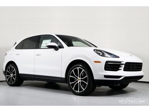 White 2019 Porsche Cayenne