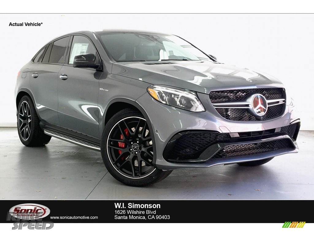 Selenite Grey Metallic / Black Mercedes-Benz GLE 63 S AMG 4Matic Coupe