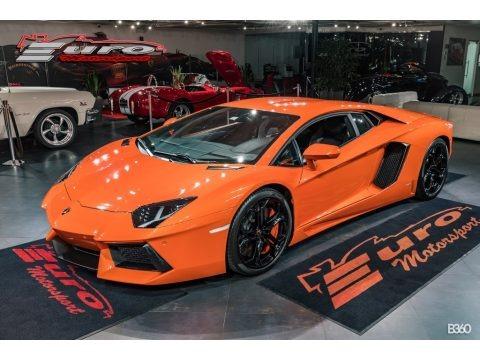Arancio Atlas (Orange) 2012 Lamborghini Aventador LP 700-4
